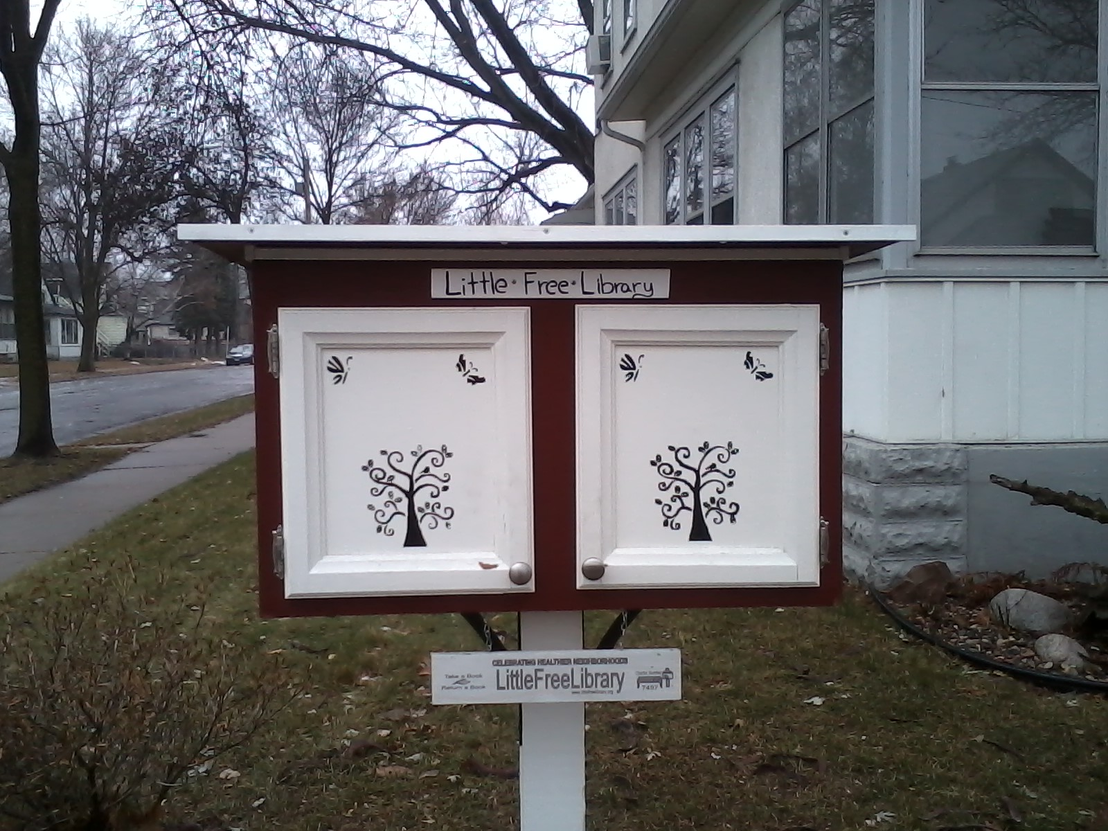 Little Free Library in the Bottineau Neighborhood