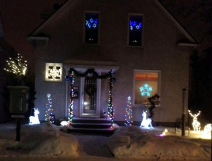 Christmas lights can be a great way to light a neighborhood and reduce crime