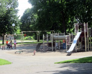 Bottineau Park playground