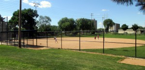 Bottineau Park softball field