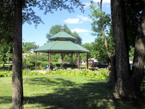Gluek Park gazebo