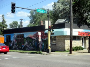 Mural on Lowry Avenue
