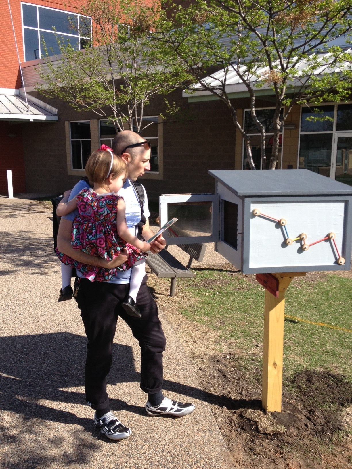 Using a Little Free Library