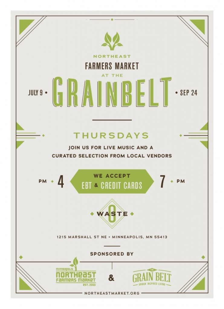 NE Farmers Market at the Grain Belt