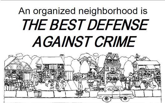 The Best Defense Against Crime