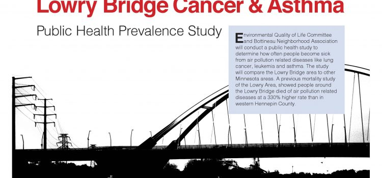Lowry Bridge Cancer & Asthma Public Health Prevalance Study